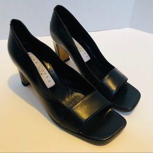 Pura Lopez-Made in Spain 🇪🇸 prep toe pump.